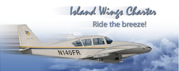 Island wings air charters