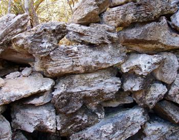Rum Cay Rock Walls