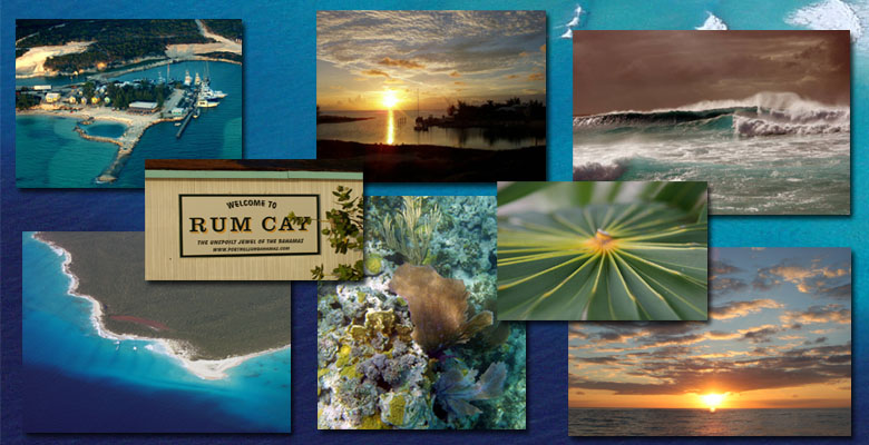 Rum Cay Collage