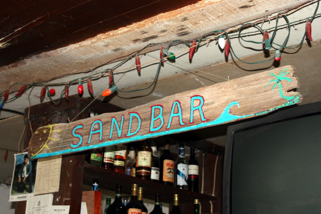 Kaye's Bar Rum Cay Sandbar